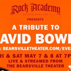 Rock Academy Presents ' A Tribute to David Bowie'