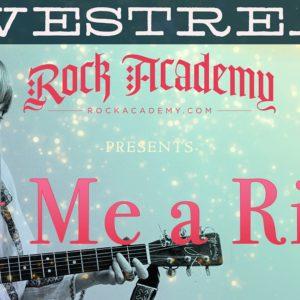 Rock Academy Presents 'Cry Me A River' LIVESTREAM
