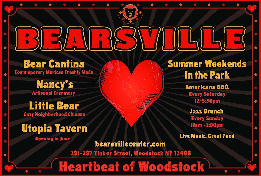 Jazz Brunch at Bearsville! 11am-3pm Bearsville Park.