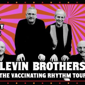 The Levin Brothers – The Vaccinating Rhythm Tour LIVE at Bearsville Theater