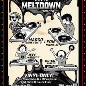 Return of the Vinyl Meltdown  DJ Dance Party
