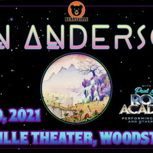 Jon Anderson, The Voice of YES, with the Paul Green Rock Academy LIVE at Bearsville Theater – LAST FEW TICKETS REMAINING!