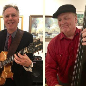 Jazz Brunch w/live Music from Dr. Swing Duo: Ken McGloin & Jim Curtain