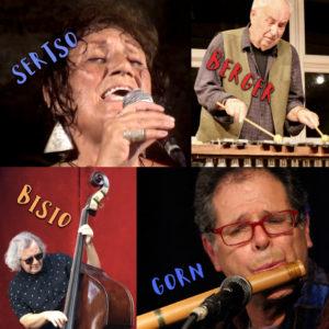 Jazz Brunch w/live Music from Sertso, Berger, Gorn & Bisio