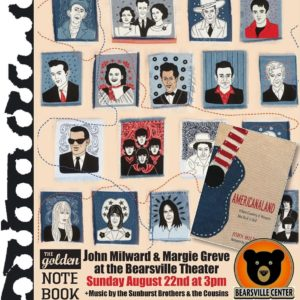 Americanaland-Music and Words with John Milward at Bearsville Theater