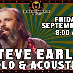 Steve Earle Solo & Acoustic LIVE at Bearsville Theater