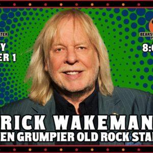 "Rick Wakeman ""The Even Grumpier Old Rock Star Tour' LIVE at Bearsville Theater"