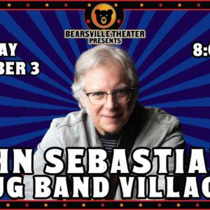 John Sebastian's Jug Band Village LIVE at Bearsville Theater
